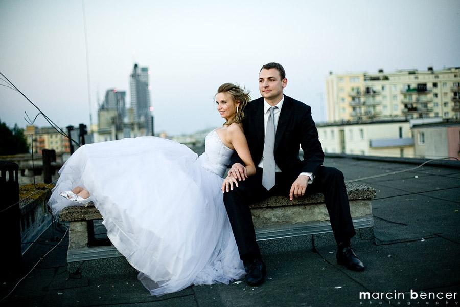 Magda I Maciek, Golf Na Dachu Z Widokiem Na Sea Towers Gdynia + Mały Backstage