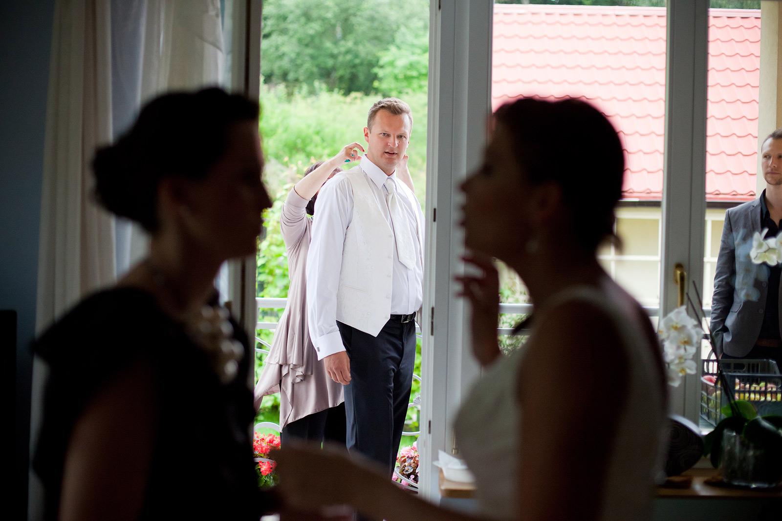 fotografia ślubna gdańsk - przygotowania